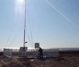 沿海城市气象站PM2.5、PM1.0细颗粒物在线监测系统